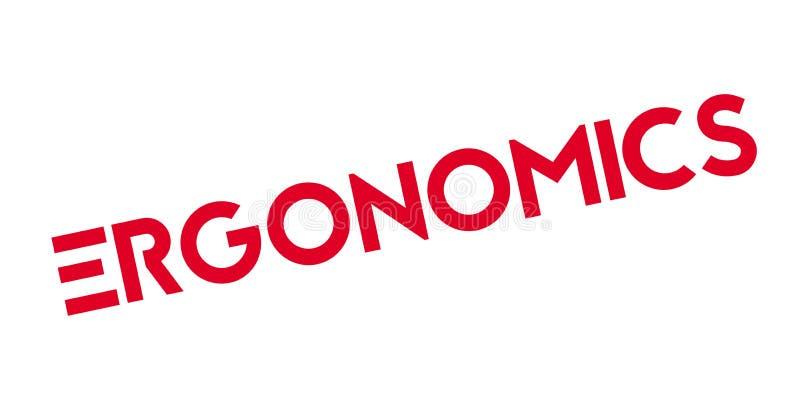 Sello de goma ergonómico libre illustration