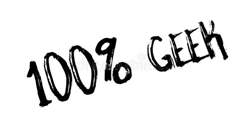 Sello de goma de 100 frikis libre illustration