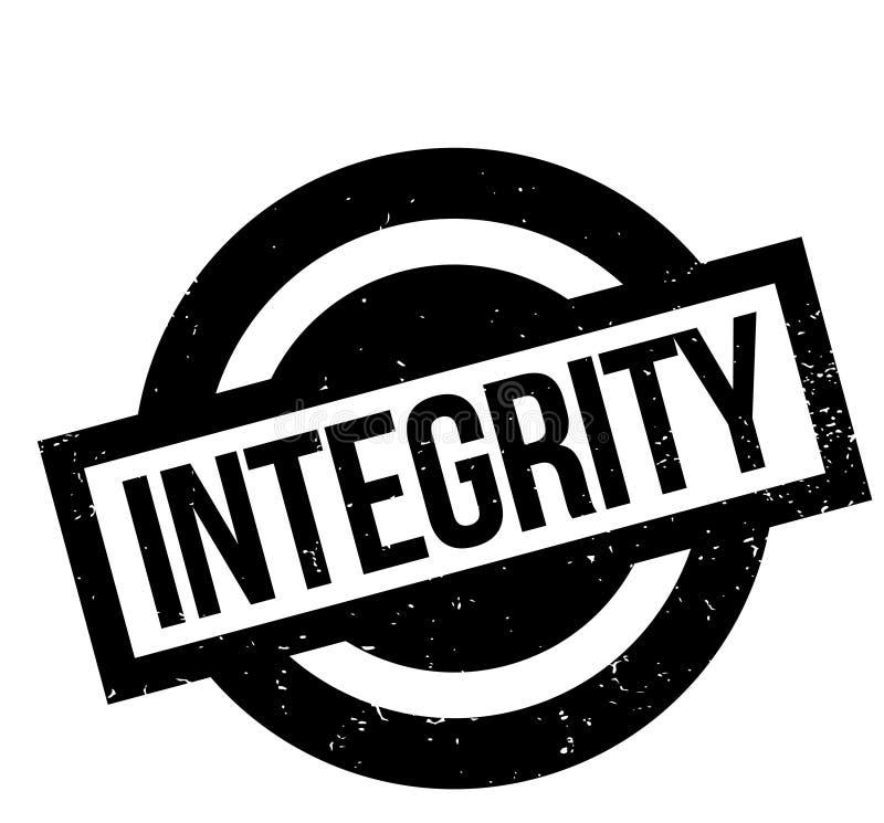 Sello de goma de la integridad libre illustration