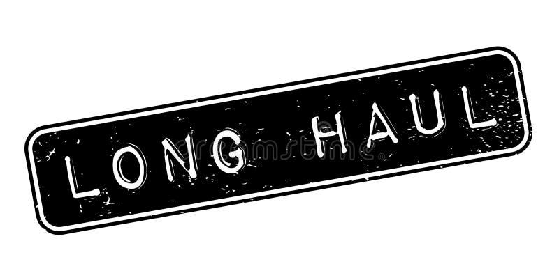 Sello de goma de larga distancia libre illustration