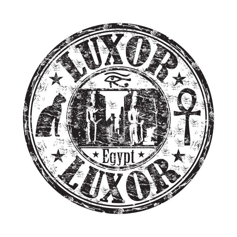 Sello de goma del grunge de Luxor libre illustration