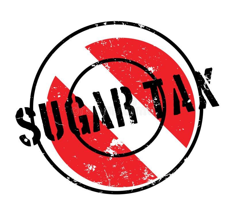 Sello de goma de Sugar Tax libre illustration