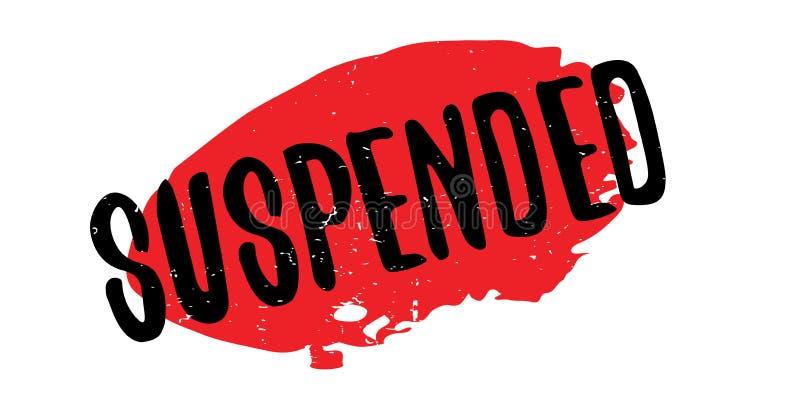 Sello de goma suspendido libre illustration