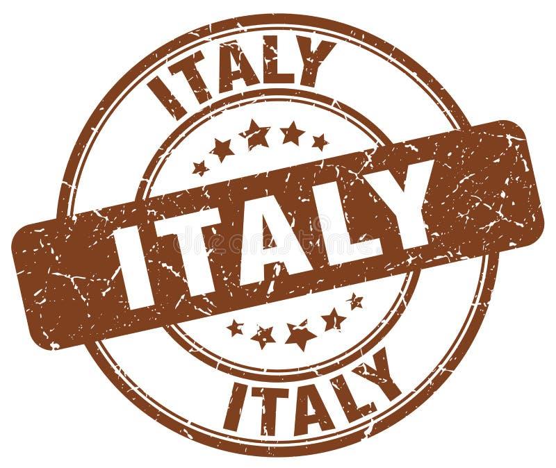 Sello de Italia ilustración del vector