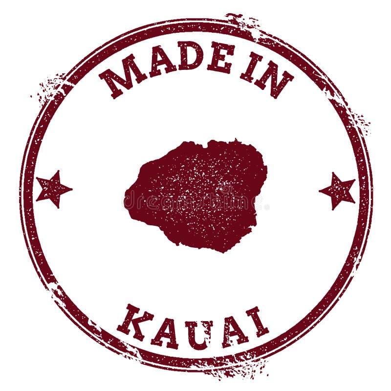 Sello de Kauai libre illustration