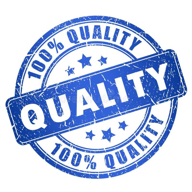 Sello de la calidad ilustración del vector