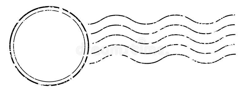 Sello de la cancelación de los sellos libre illustration