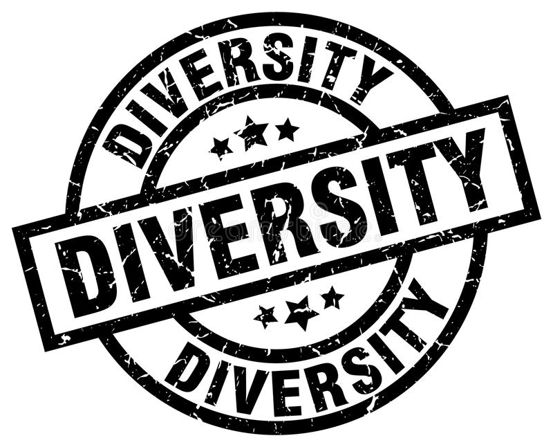 Sello de la diversidad libre illustration