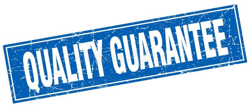 Sello de la garantía de calidad stock de ilustración