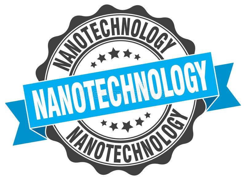 sello de la nanotecnología sello libre illustration