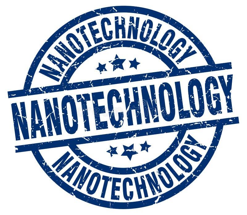 Sello de la nanotecnología ilustración del vector