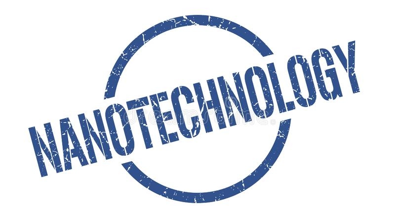 Sello de la nanotecnología libre illustration