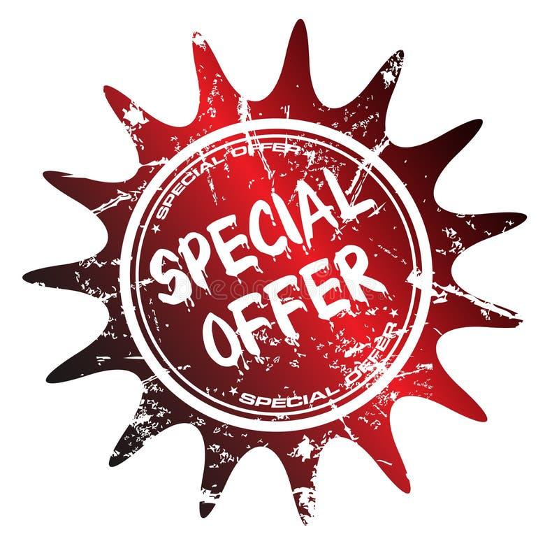 Sello de la oferta especial