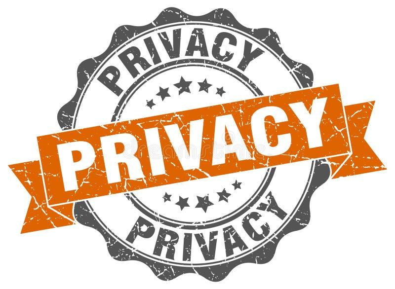sello de la privacidad sello libre illustration
