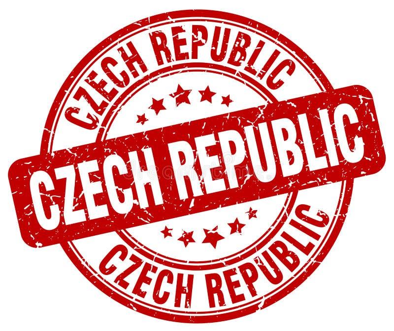 Sello de la República Checa libre illustration
