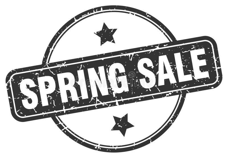 Sello de la venta de la primavera stock de ilustración