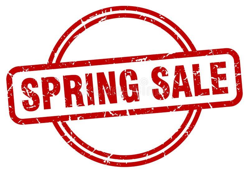 Sello de la venta de la primavera libre illustration