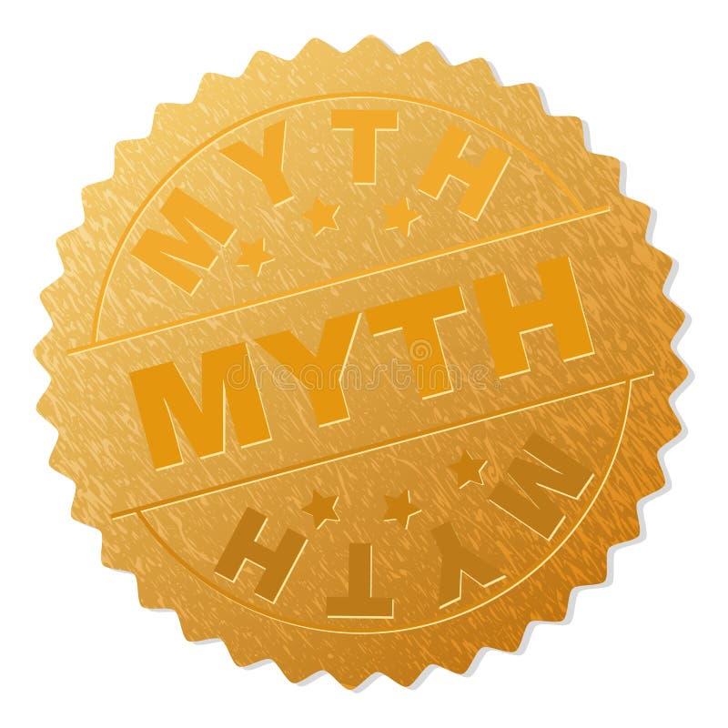 Sello de oro de la medalla del MITO libre illustration