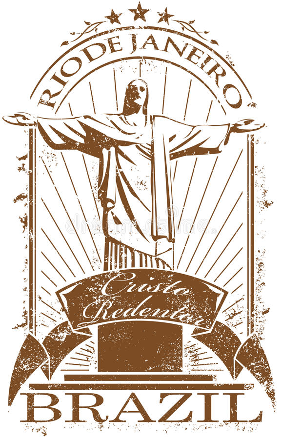 Sello de Rio de Janeiro foto de archivo