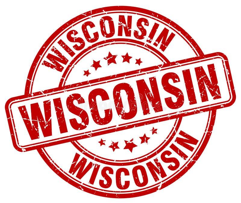 Sello de Wisconsin libre illustration