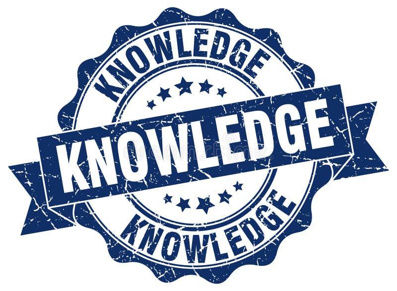 sello del conocimiento sello libre illustration