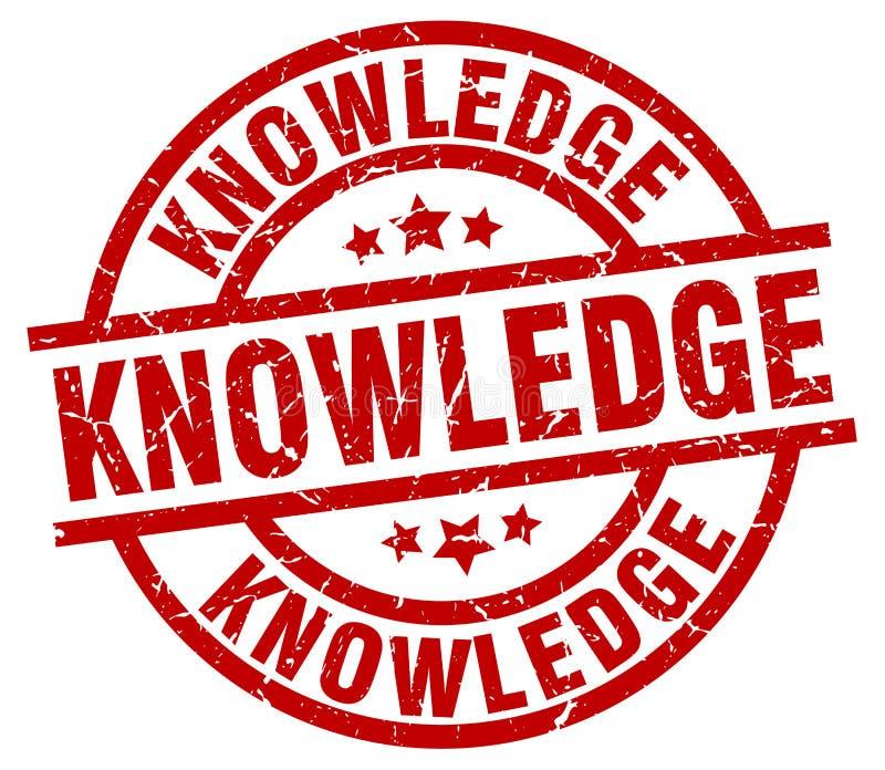 Sello del conocimiento ilustración del vector