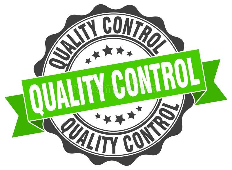 sello del control de calidad sello libre illustration