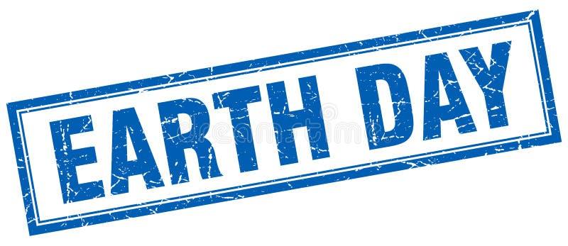 Sello del Día de la Tierra libre illustration