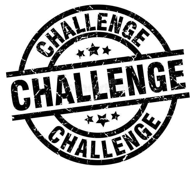 Sello del desafío ilustración del vector