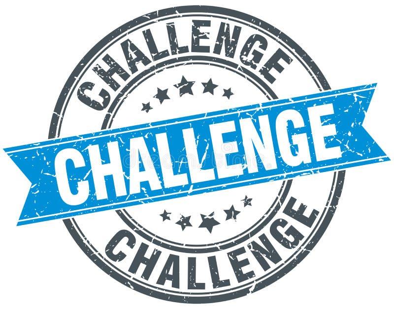 Sello del desafío stock de ilustración