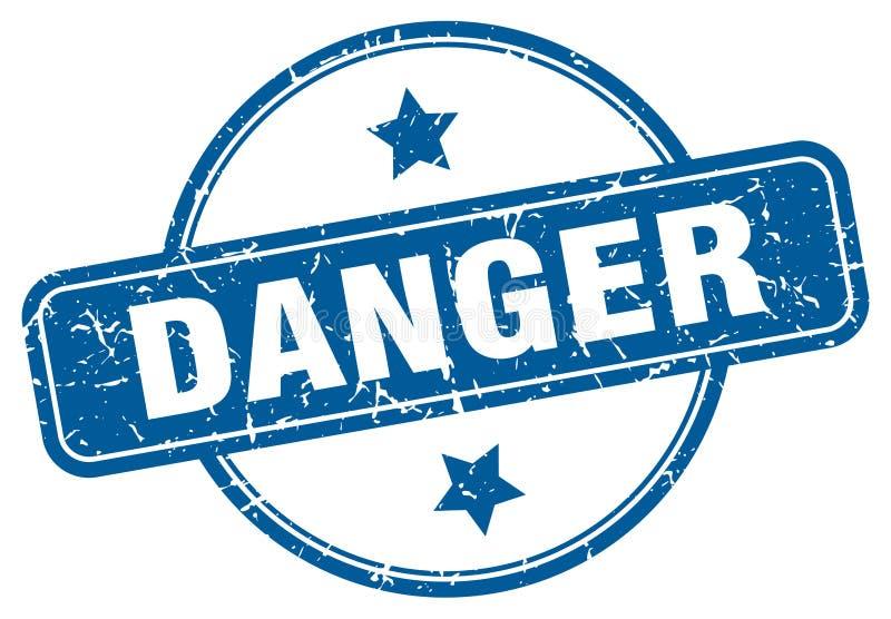 Sello del peligro libre illustration
