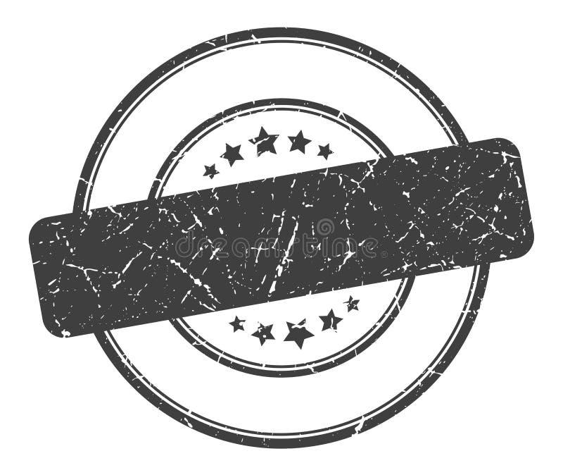 Sello en blanco ilustración del vector