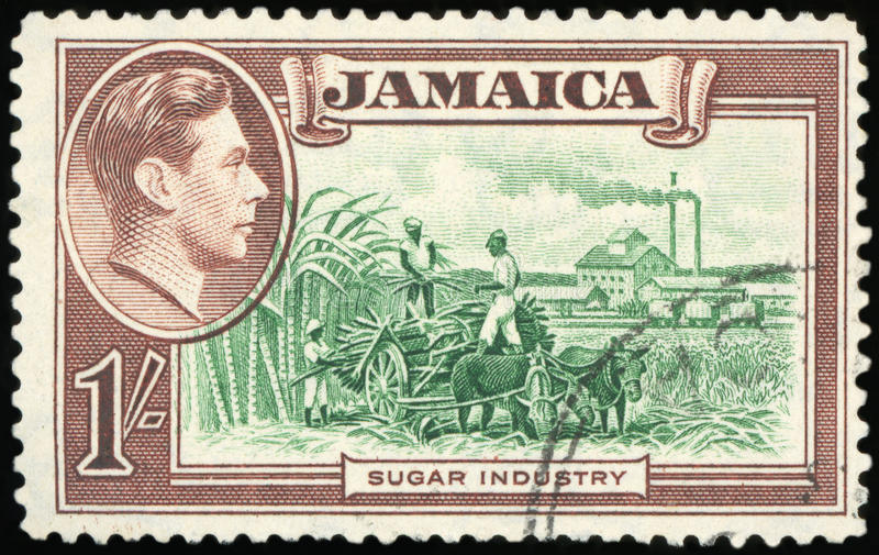 Sello - Jamaica fotos de archivo