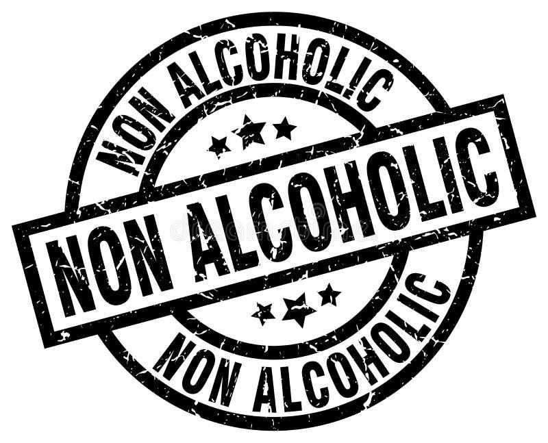 sello no alcohólico ilustración del vector