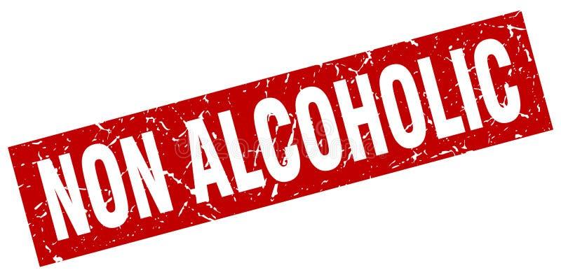 sello no alcohólico libre illustration