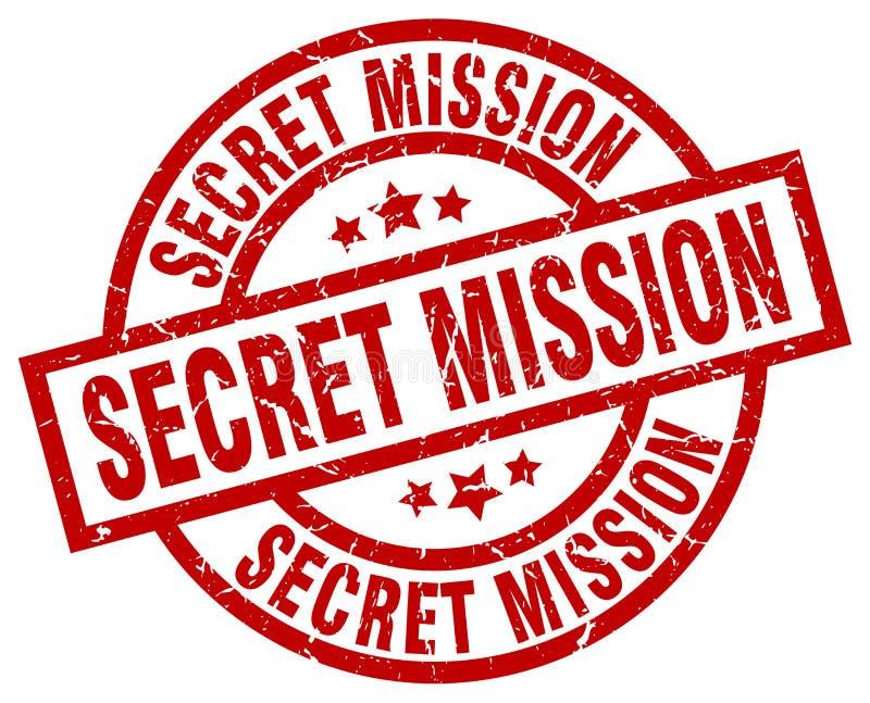 Sello secreto de la misión libre illustration
