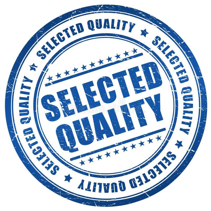Sello seleccionado de la calidad stock de ilustración