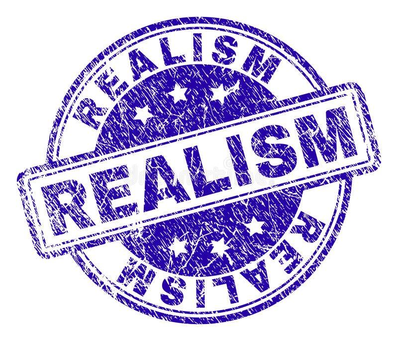 Sello texturizado Grunge del sello del REALISMO libre illustration