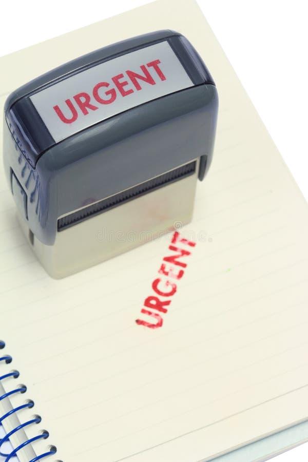 Sello urgente imagen de archivo libre de regalías