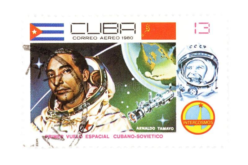 Sellos cubanos fotos de archivo libres de regalías