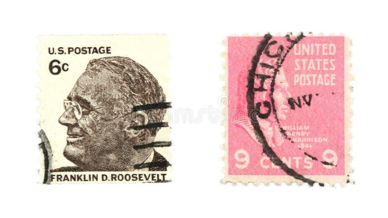 Sellos de Estados Unidos imagen de archivo libre de regalías