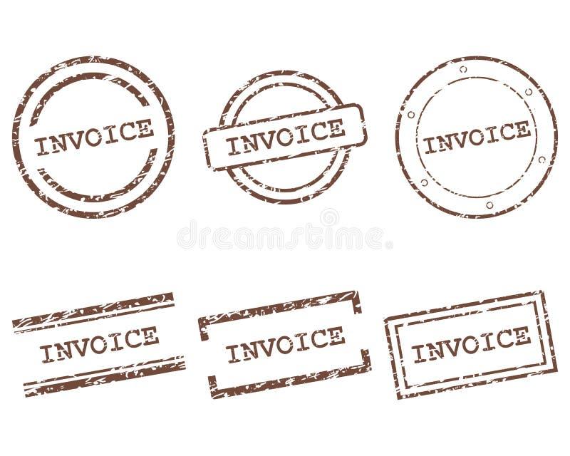 Sellos de factura libre illustration