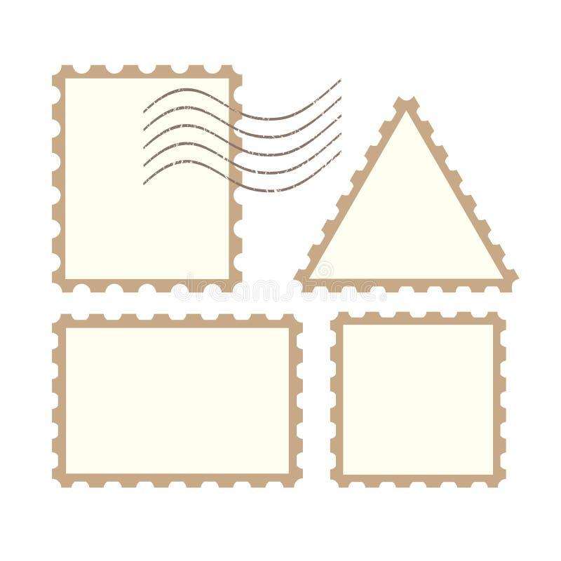 Sellos de los posts del vector libre illustration