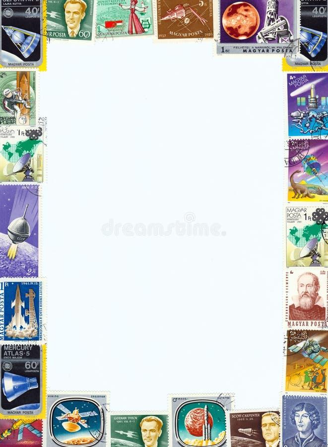 Sellos postales foto de archivo libre de regalías