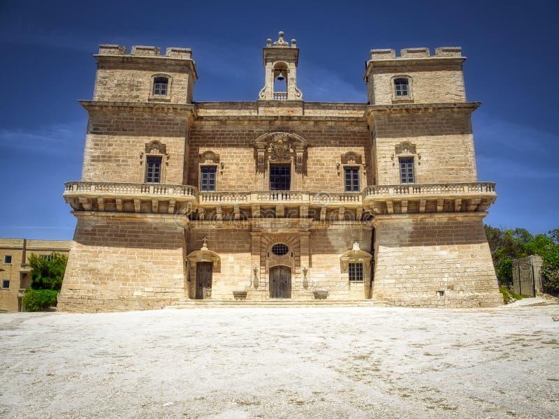 Selmun-Palast, Malta stockfoto