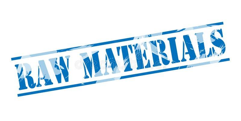 Selo azul dos materiais da lei ilustração royalty free