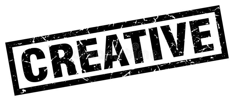Selo creativo ilustração stock