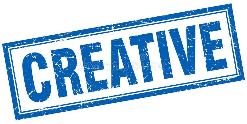 Selo creativo ilustração royalty free
