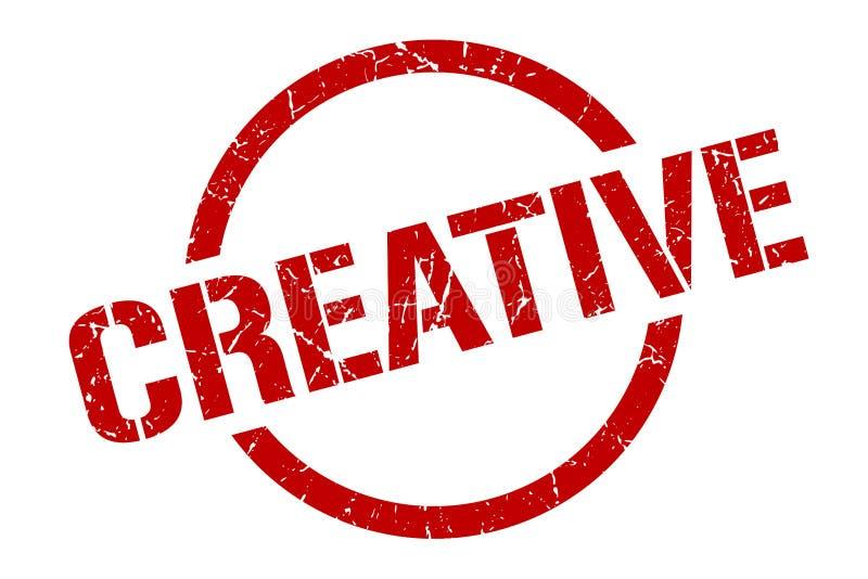 Selo creativo ilustração do vetor