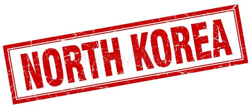 Selo da Coreia do Norte ilustração royalty free
